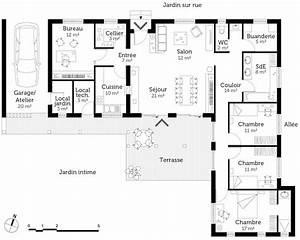 plan agrandissement maison plain pied ob91 jornalagora With plan agrandissement maison plain pied
