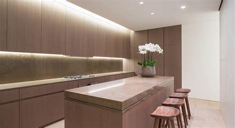 sliding countertop  brings minimalist elegance