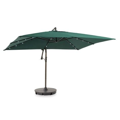 Offset Patio Umbrellas Menards by Replacement Canopy For Bbb 8 X 11 Offset Umbrella Garden Winds