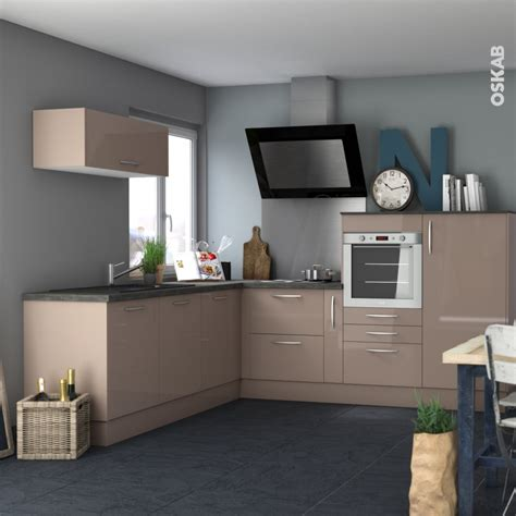 cuisine moka façades de cuisine 3 tiroirs n 74 keria moka l80 x h70 cm