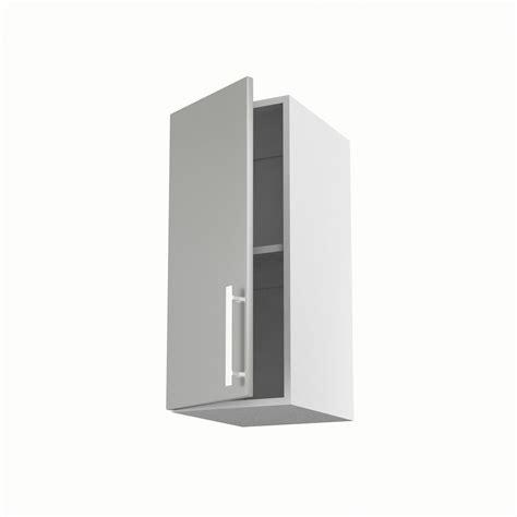 meuble de cuisine haut gris 1 porte délice h 70 x l 30 x p