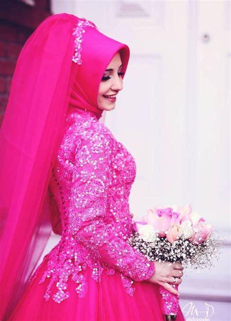dress fashion merah 110 muslim bridal wedding dresses with sleeves