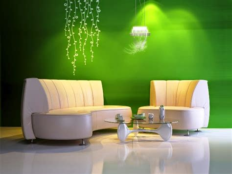 interior paint color schemes green