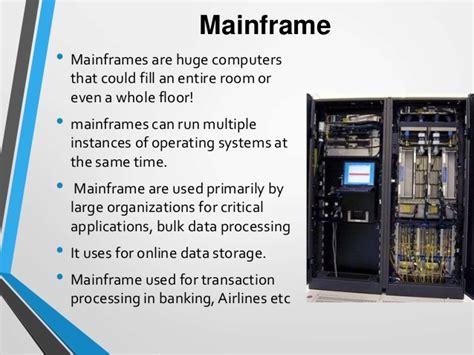 Mainframe Computer Definition English