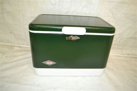 colemann template coleman cooler 54 quart steel belted green 6154b720 ebay