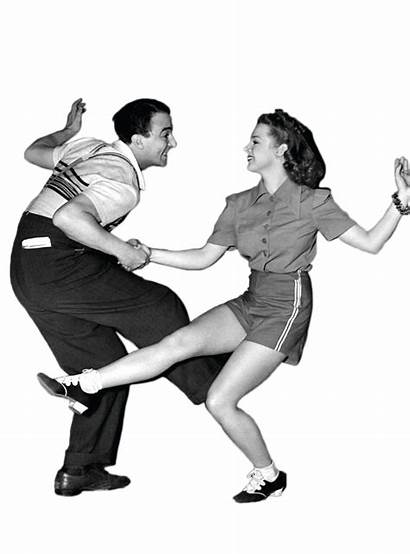 Dancing Bailando Couple Transparent Dance Swing Boogie