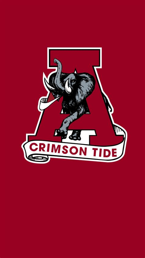Alabama Crimson Tide Football Logo