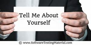 Tell Me About Yourself In The Interview