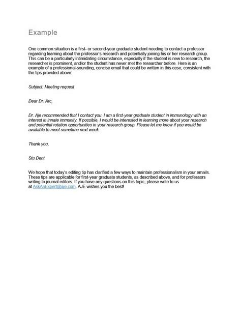 professional email format templates business mentor