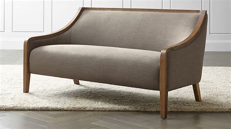 Settee Sofa Or by Sofa Settee Sofas Couches And Loveseats Crate Barrel Thesofa