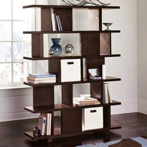 West Elm Room Divider Bookcase Chocolate  Dining Room