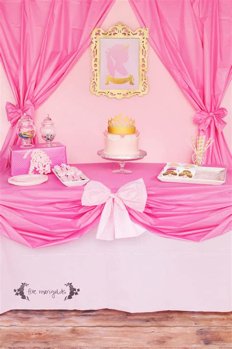 complete pink princess party