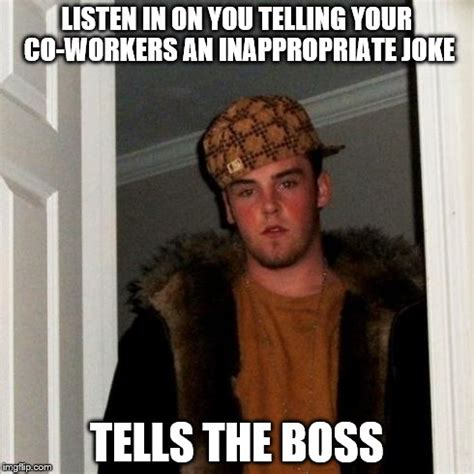 Co Worker Memes - scumbag co worker imgflip