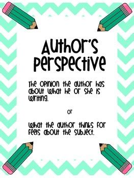 authors perspective task cards  brandi caldwell