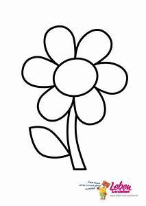 Blumen Zum Ausdrucken : pin von hans kohlhaas auf basteln blumen schablone malvorlagen blumen und blumenschablone ~ Watch28wear.com Haus und Dekorationen