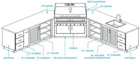 outdoor kitchen cabinet plans outdoor kitchen plans kalamazoo outdoor gourmet 3832
