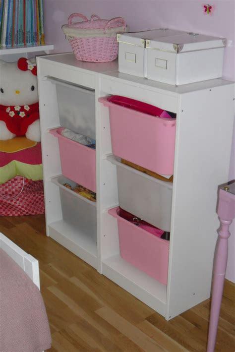 meuble rangement chambre bebe fille visuel