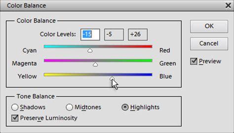 color balance color balance
