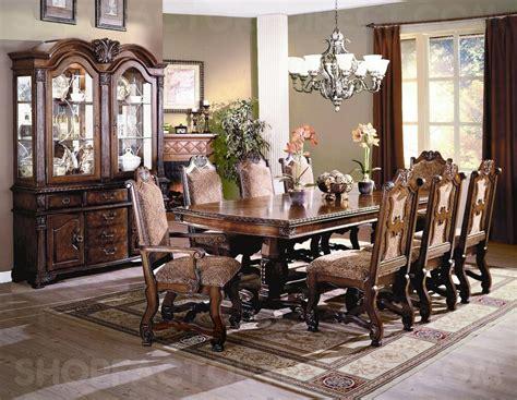 neo renaissance formal dining room furniture set