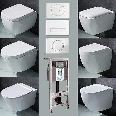 vorwandelement wand h 196 nge wc set toilette softclose deckel eur 139 95 picclick de