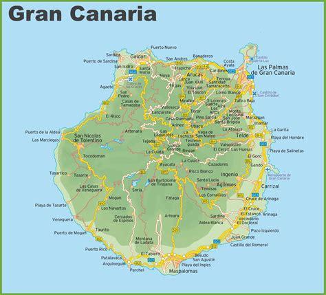 gran canaria road map