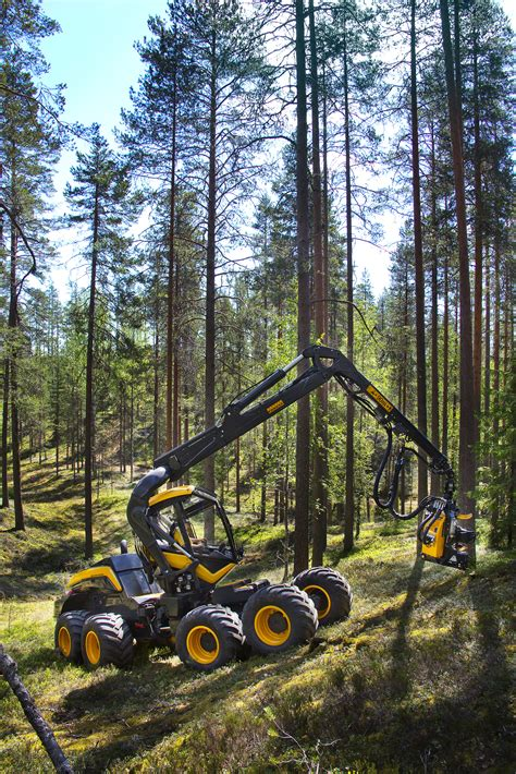 New PONSSE forest machine technology in Elmia Wood: Focus ...