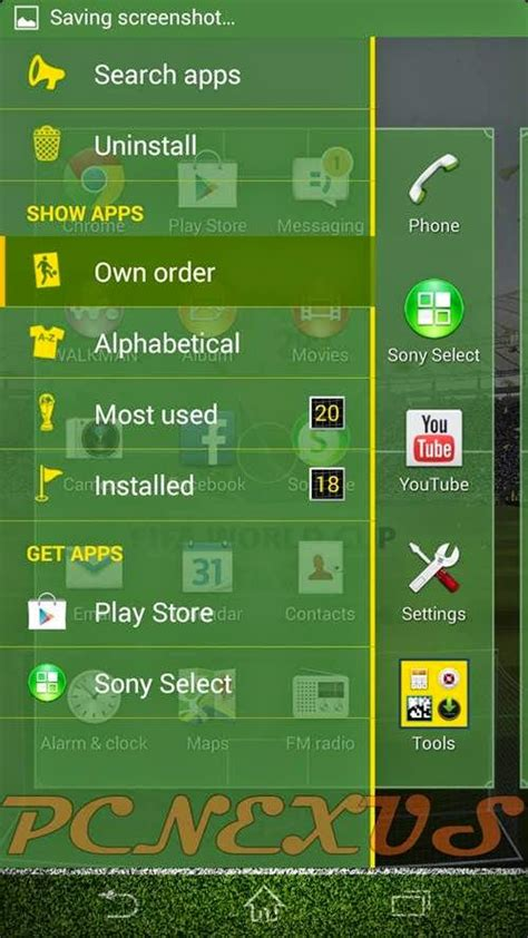 xperia fifa world cup brazil 2014 theme for sony