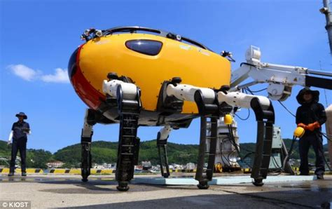 Meet Crabster, The Giant Robotic Crab That Will
