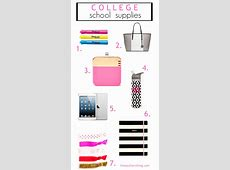 College School Supplies • The Southern Thing