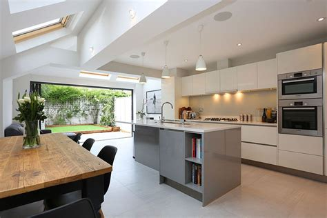 ideas for kitchen extensions a beautiful pitched to hip roof kitchen extension