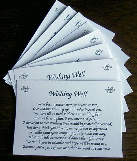 wishing  wedding poem cards   wedding