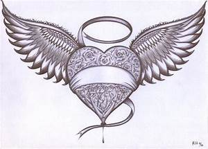 Heart With Wings by RenzoEHernandez on DeviantArt