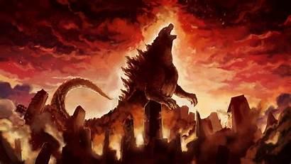 Godzilla Wallpapers Background Yodobi 4k Title