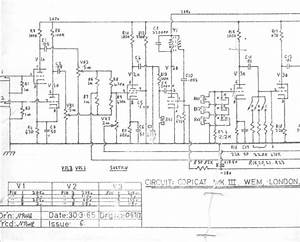 Wem Copicat Mk3 Valve Schematic