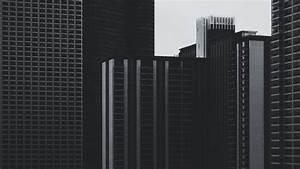 monochrome architecture building skyscraper