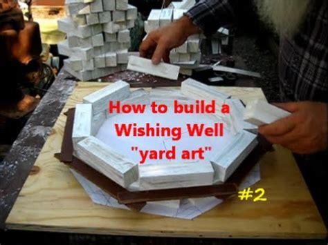 build  wishing  yard art project  youtube