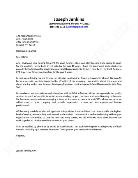 rules  successful letters  application writing