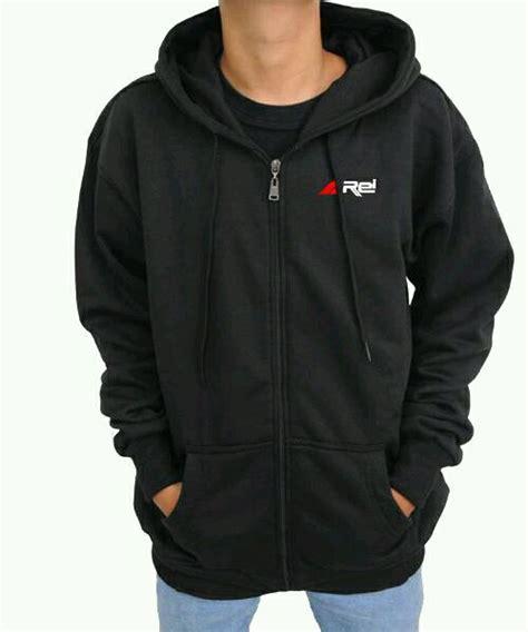 Jual Jaket Merk Rei jual jaket zipper rei simple hitam di lapak skw clothing