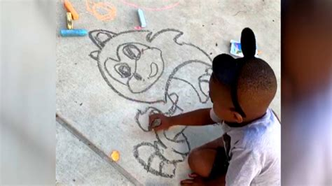year  picasso kid wows  family  drawing