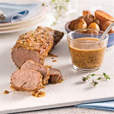 cuisine dijon porc miel et dijon recettes cuisine et nutrition