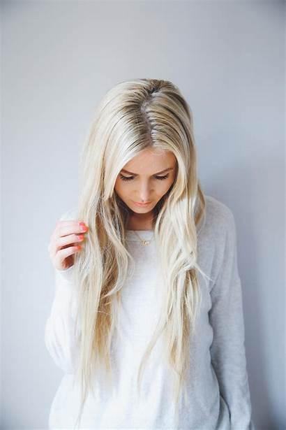 Blonde Barefoot Hair Hairdresser Amber Tell Pretty