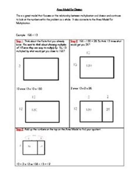Multiplication With Area Models Worksheets  Multiplication Arrays Worksheetsmultiplication