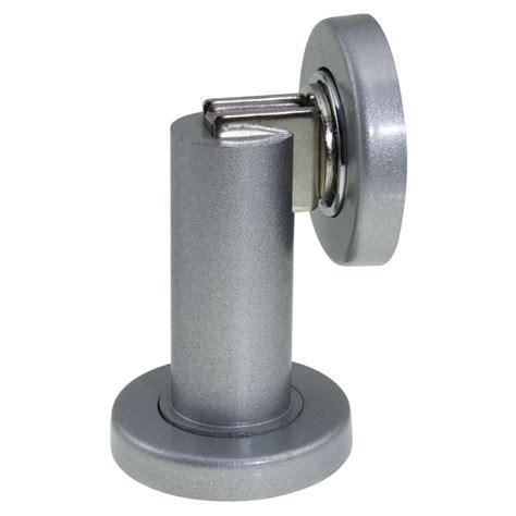magnetic door stop adoored polished chrome cylinder magnetic door stop