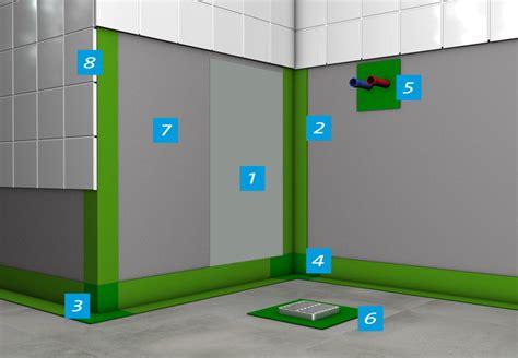 Badezimmer Fliesen Ecke by Badezimmer Und Abdichtung Unter Fliesen