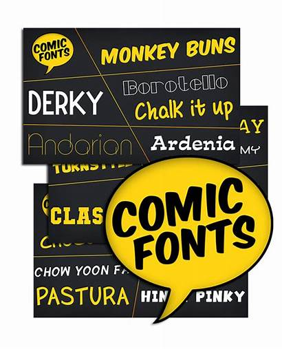 Comic Fonts Commercial Software Mac