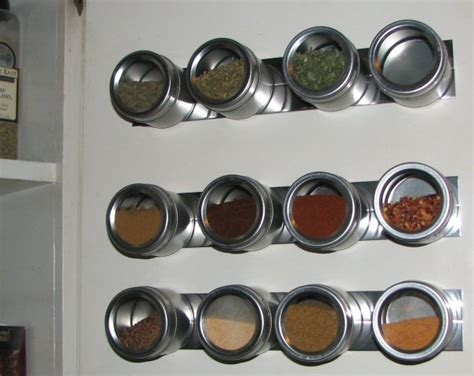 magnetic spice rack expandable magnetic spice racks to provide storage for