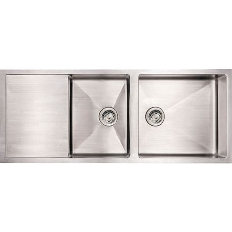 kitchen sinks commercial bowl reversible undermount sink brushed stainless steel by