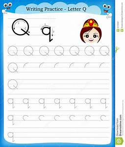 Q Worksheets For Kindergarten - pre k worksheets alphabet ...
