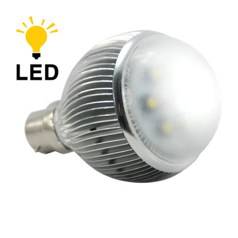 led light bulb 6 watt warm white with bayonet base