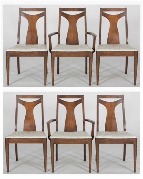 set six broyhill brasilia dining room chairs